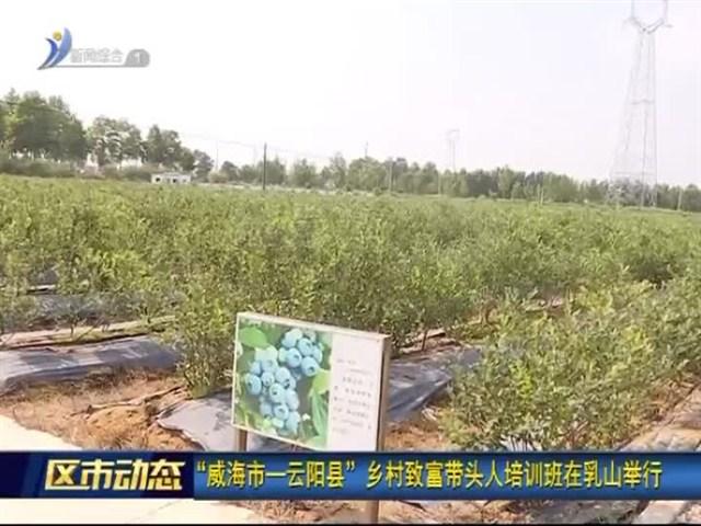 """""""威海市—云阳县""""乡村致富带头人培训班在乳山举行"""