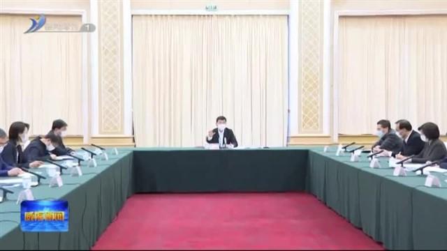 张海波在春季学期首批开学返校准备及保障工作视频会议上做出强调