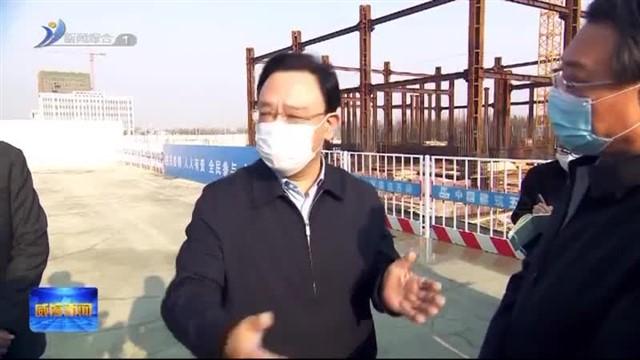闫剑波到高区走访调研重点企业和国家区域创新中心建设