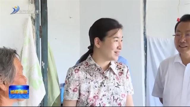 张宏伟到经区调研脱贫攻坚工作