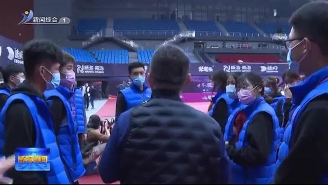 国际乒联世界杯赛事愿者:一道靓丽风景线