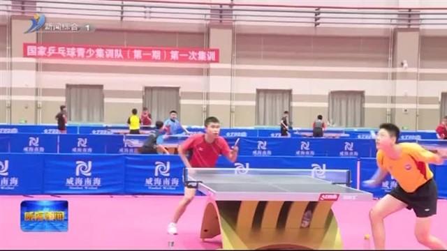 国家乒乓球青少队来南海新区集训