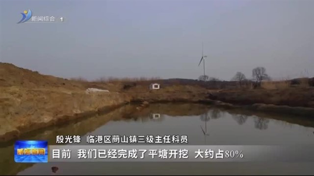 """铆足牛劲往前""""犇"""" 临港区8000亩高标准农田项目全面复工"""