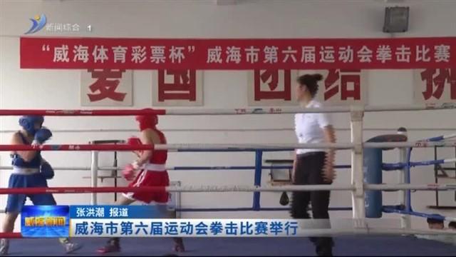 威海市第六届运动会拳击比赛举行