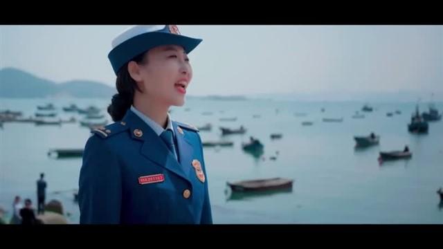 环翠区消防快闪作品《红旗飘飘》